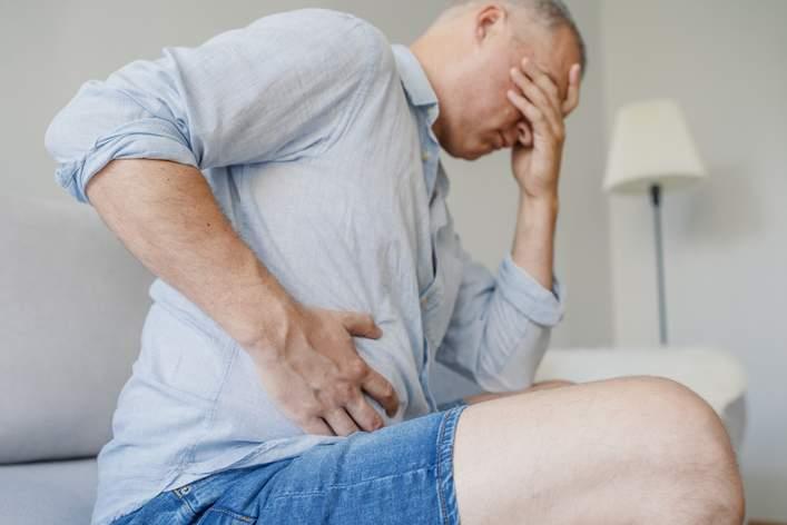 gastroenteritis hombre dolor abdominal